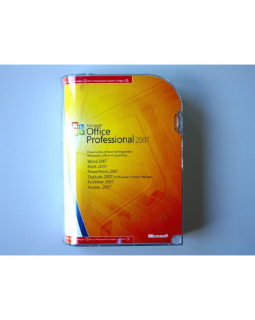 Microsoft Office Professional 2007 SK FPP Retail na 2 PC