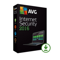 AVG Internet Security 2016 - 1 lic. 24 měs.