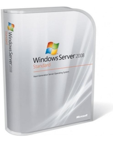 OEM Microsoft Windows Server 2008 R2 Standard 64-Bit EN 1-4 CPU + 5 CAL
